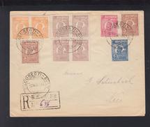 Romania Air Mail Cover 1924 Bucuresti To Nice - Briefe U. Dokumente