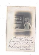 60 - Carte Photo BEAUVAIS, Intérieur D'un Café, Comptoir, - Beauvais