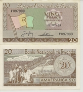 Billet De 20 Frs (1969) - Rwanda