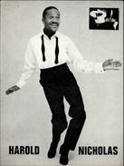CELEBRITES - HAROLD NICHOLAS  - Twist - Non Classés
