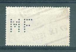 "BELGIE - TR 144  - Cachet   ""BXL-CHARTREUX 2 - BRUSSEL-KARTUIZERS 2"" - PERFIN - (ref. 13.034) - 1923-1941"