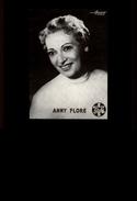 CELEBRITES - ANNY FLORE - Harcourt - Vieux Papiers