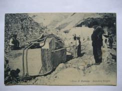 ITALIE       TOSCANA    -   CARRARA   -  CAVE   -   LIZZATURA  BLOCCHI         ANIME    TTB - Carrara