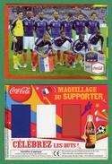 -Publicité Coca Cola-Maquillage Du Supporter-Équipe De France De Football 2010- - Coca-Cola