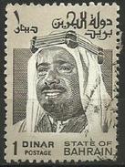 Bahrain - 1976  Shaikh Isa  1D Used    Sc 238 - Bahrain (1965-...)
