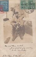 RARE CHINA YUNNAN STAMP ON POSTCARD-PHOTOGRAPHY. MONG-TSEU CHINE 18 DEC 1906. BACK: RED STAMP + TIEN-TSIN + SHANGAI 7144 - Chine