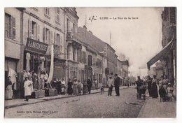 70  LURE   La Rue De La Gare - Lure