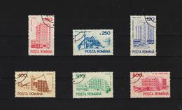 1991 - Hotels Et Auberges Iv  Mi No 4746/4751 Et Y&T No 3976A/3976F - 1948-.... Republics