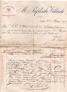 """Austria - Villach - Fattura Della Ditta """" M. Pufitsch """"  Datata  24 Settembre 1900 - (FDC4978) - Austria"""