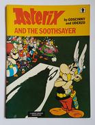 LIVRE - B.D. - ASTERIX AND THE SOOTHSAYER - GOSCINNY AND UDERZO - KNIGHT BOOK - 1985 - Vertaalde Stripverhalen