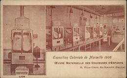 94 - SAINT-MANDE - Exposition Coloniale De Marseille - Oeuvre Maternelle Des Couveuses D'enfants - Nourrices - Saint Mande