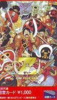 MANGA * Carte Prépayée Japon * ONE PIECE  (15.212) CARD JAPAN * MOVIE * FILM * ANIME * CINEMA - Stripverhalen