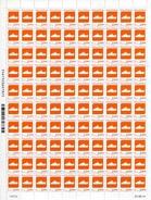 """Feuille De 100 Timbres** Gommés De 2014  """"0,04 € Le Navire Marion Dufresne"""" Avec CD 21 . 03 . 14 - Nuovi"""