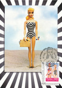 D30297 CARTE MAXIMUM CARD RR TRIPLE 2009 NETHERLANDS - POSTEX BARBIE 50 YEARS CP ORIGINAL - Dolls