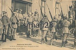 GUERRE DE 1914-1915 - LE ROI DU WURTEMBERG VISITE LE KONPRINZ AU FRON - War 1914-18