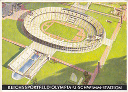 Berlin - Reichssportfeld Olympia - Signiert - 1936         (A-43-150113) - Giochi Olimpici