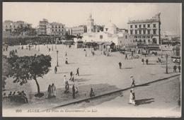 La Place Du Gouvernement, Alger, Algerie, C.1910 - Lévy CPA LL 295 - Algiers