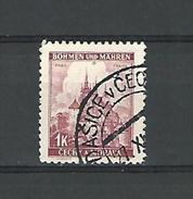 BÖHMEN PRAG 1 K  OBLITERE - Bohemia & Moravia