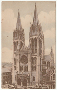West Front, Truro Cathedral, Truro, Cornwall, 1921 - W H Smith Postcard - Other