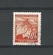 BÖHMEN  40 H  OBLITERE - Used Stamps