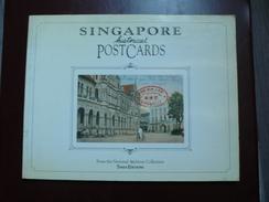 Singapore Historical Postcards - 96 Pages - Frais De Port 3.50 Euros - Livres