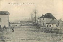 10 Bourguignons Vue Prise Du Canal    Ref 1252 - Autres Communes
