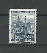 BÖHMEN  OLMUTZ 250 K   OBLITERE DOS CHARNIERE - Bohemia & Moravia