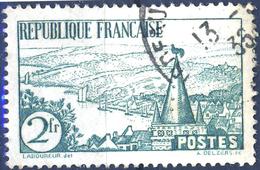 301 RIVIERE BRETONNE   OBLITERE ANNEE 1935 - Oblitérés
