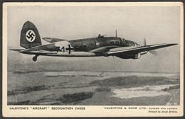 Heinkel HE 111K5A - Valentine's Aircraft Recognition Card #39, C.1940 - 1939-1945: 2nd War