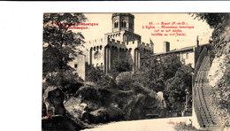 L'AUVERGNE Historique Et Pittoresque ROYAT L'église Monument Historique Cpa  Circulée En 1906 Bon état Voir Scans - Royat