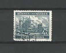 BÖHMEN  MAHRISCH OSTRAU  4 K  OBLITERE - Bohemia & Moravia