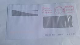 298-BANCA POPOLARE PUGLIESE  - 13/03/12 - Affrancature Meccaniche Rosse (EMA)