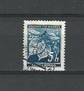 1939 / 1940 N° 20 BÖHMEN  5 H   OBLITÉRÉ DOS CHARNIÈRE - Bohemia & Moravia