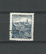 1939 / 1940 N° 25 BÖHMEN  KUNGENBERG 40 H  OBLITÉRÉ DOS CHARNIÈRE - Bohemia & Moravia