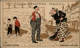 CHROMOS - Pub Pour Chaussures RAOUL à Toulouse - Mère Michel - Chromos