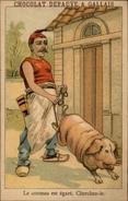 CHROMOS - Pub Pour Chocolat DEBAUVE & GALLAIS - Objet à Chercher - Chromos