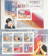 Republique De Guinee   2009  Chess  Champions  Players  2  MNH Sheets  # 93325 - Chess