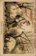 CHROMOS - Pub Pour Chocolat DEBAUVE & GALLAIS - Objet à Chercher - Peintre Sur Chevalet - Chromos