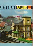 CATALOGUE FALLER 75-76- USINE BALLAST-AUTO TRAIN-GARE-JOUETS-STATION ESSENCE GARAGE-RACING-TARIFS FLEISCHMANN- NURMBERG - Railway & Tramway