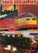 CATALOGUE JOUETS MARKLIN-GARE TRAIN CHEMINS DE FER- 1971- MOHNDRUCK GUTERSLOH-WAGON LOCOMOTIVE-MINEX- - Railway & Tramway
