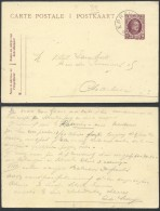 AO916 Entier Relais De Eprave à Charleroi 1924 - Postales [1909-34]