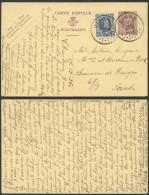 AO922 Entier De Dison à Gand 1920 Affranchissement Complémentaire - Ganzsachen