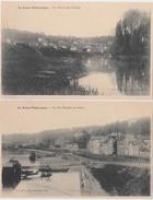 La Seine Pittoresque. 4 CPA. L'Ile Saint Germain à Billancourt. Bellevue. Vue Du Bas Meudon. Vue De Sèvres - France