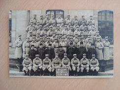 CPA PHOTO 18 Eme GENIE 10eme COMPAGNIE CLASSE 1934/1 - Regimenten