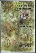 BELGIUM, 2011, EUROPA, FORESTS, YV#B.143, SS, MNH - Blokken 1962-....