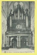 * Antwerpen - Anvers - Antwerp * (G. Hermans, Nr 9) Les Grandes Orgues De L'église Saint Paul, Orgel, Kerk, Church - Antwerpen