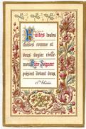 IMAGE PIEUSE HOLY CARD SANTINI HEILIG PRENTJE : Faites Toutes Choses Comme Si Vous Voyiez Réellement Notre Seigneur - Andachtsbilder