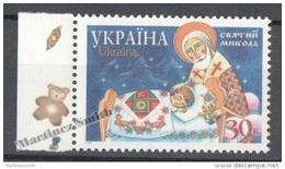 Ukraine 2001 Yvert 435G, Saint Nicolas - MNH - Ucrania
