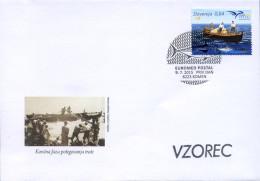 Ref. 353400 * NEW *  - SLOVENIA . 2015. EUROMED POSTAL - EMBARCACION - Slovenia