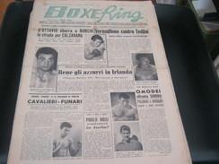 RIVISTA BOXE RING 11 APRILE  1957 - Sport